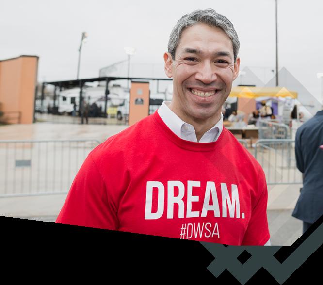 DreamWeek San Antonio - Sponsor: Mayor's Ball